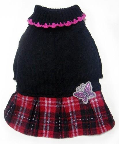 Love plaid skirt-2