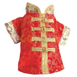 Kimono Chinese Red