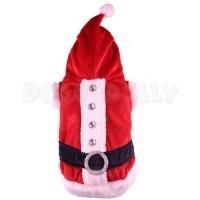 Doggy Dolly Santa Claus Coat