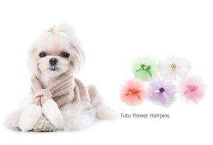 Tutu Flower Hairpins