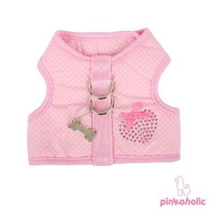 Pinkaholic Polka Harness and Leash