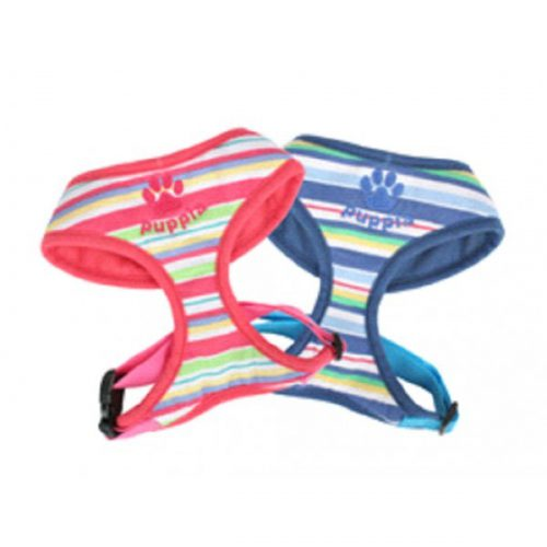 Puppia Rainbow Harness and Leash