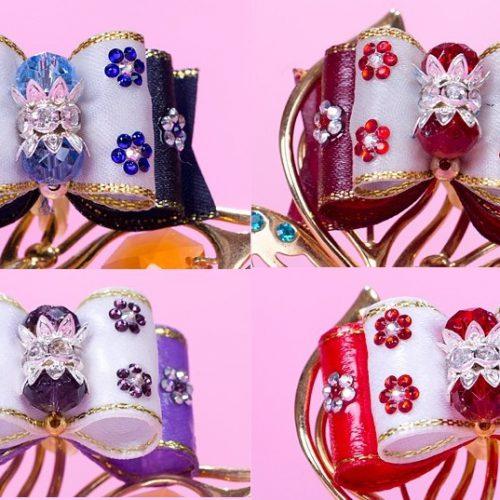 Изложбени панделки Swarovski style